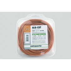 Silk za trimer 2.4mm - 15m alu