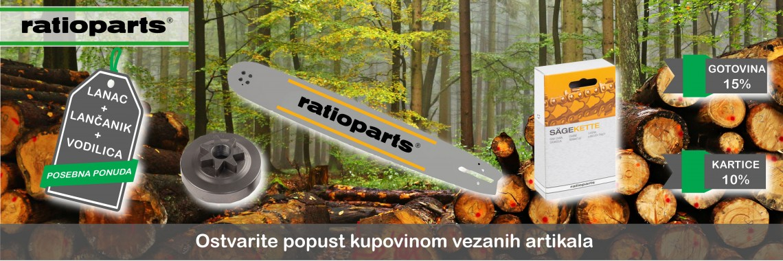 Ratioparts akcija